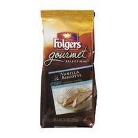 Folgers Gourmet Selections Gound Coffee Vanilla Biscotti
