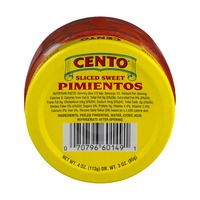 Cento Sliced Sweet Pimientos