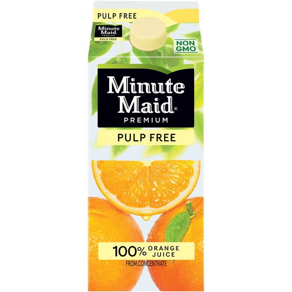 Minute Maid Pulp Free Orange Juice