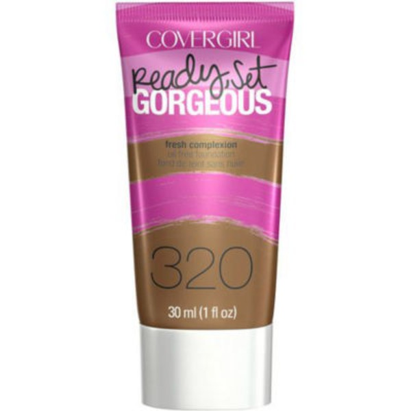 CoverGirl Ready Set Gorgeous COVERGIRL Ready, Set Gorgeous Foundation, Soft Sable  1 fl oz (30 ml) Female Cosmetics