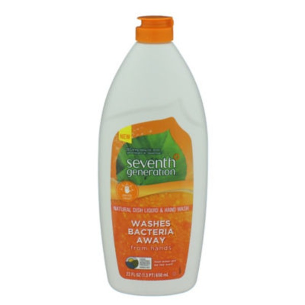 Seventh Generation Fresh Lemon & Tea Tree Dish Liquid & Hand Wash