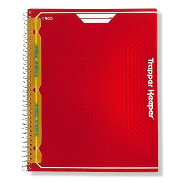 Mead Snapper Trapper Keeper 8 Pocket Folder