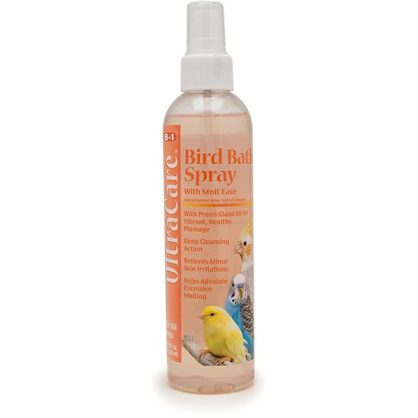 Ultracare Bird Bath Spray With Molt Ease