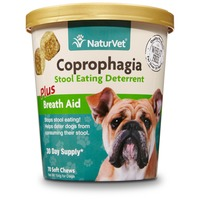 NaturVet Coprophagia Stool Eating Deterrent Dog Soft Chews