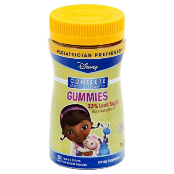 Disney Doc Mcstuffins Multi Vitamin Gummies