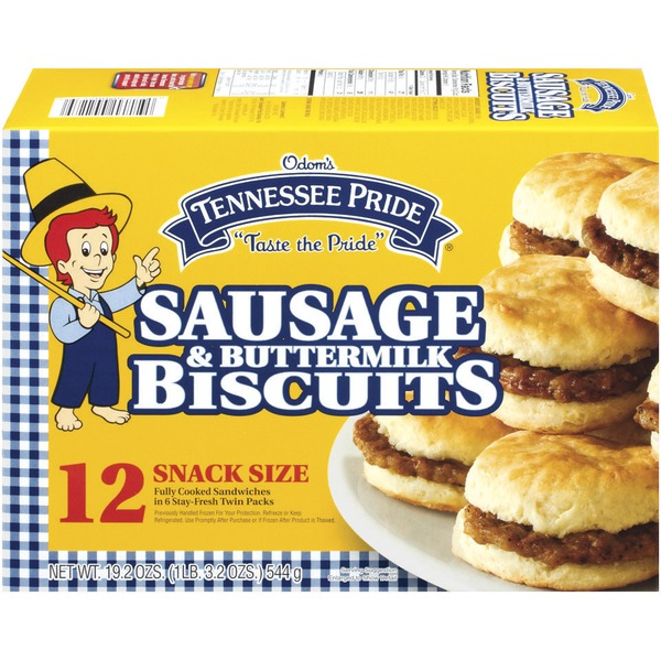 Tennessee Pride Sausage & Buttermilk 12 Ct Biscuits