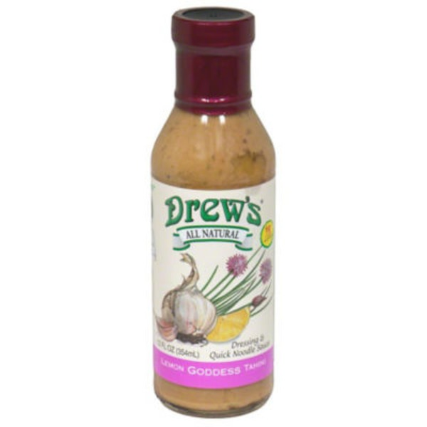 Drew's Lemon Goddess Dressing & Quick Noodle Sauce