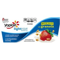 Yoplait Strawberry with Granola Light Yogurt