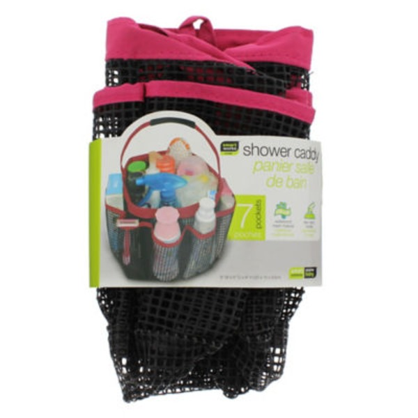 Dazz Pop Up Shower Caddy With Side Pockets, Colors May Vary