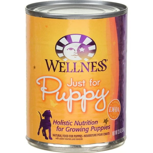 Wellness Just For Puppy Chicken And Sweet Potato Canned Puppy Food