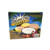 Island Way Sorbet In Fruit Shells