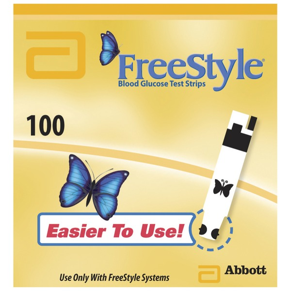 Freestyle Freedom For In Vitro Diagnostic Use Test Strips