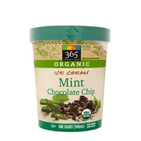 365 Organic Mint Chocolate Chip Ice Cream