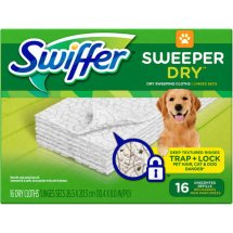 Swiffer Sweeper Dry Sweeping Cloth Refills, 16 count