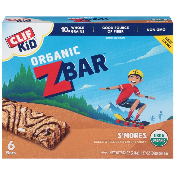 Clif Kid® Organic ZBar S'mores Energy Snack