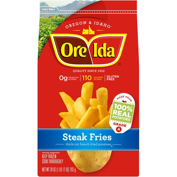 Ore Ida Steak Fries Thick-Cut French Fried Potatoes