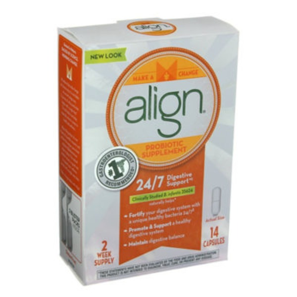Align Bifantis Align Probiotic Supplement 14 count Probiotics Supplement