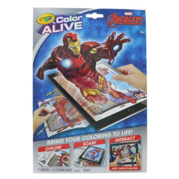 Crayola Color Alive Avengers