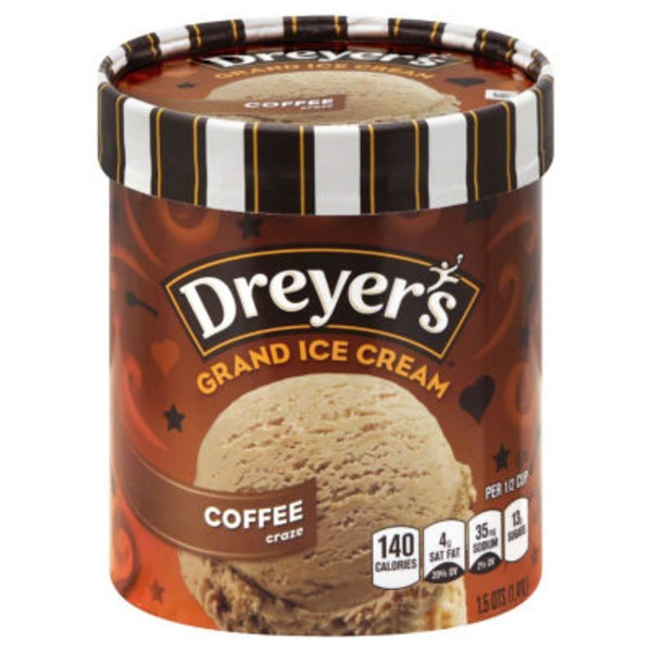 Dreyer's Coffee Grand Ice Cream