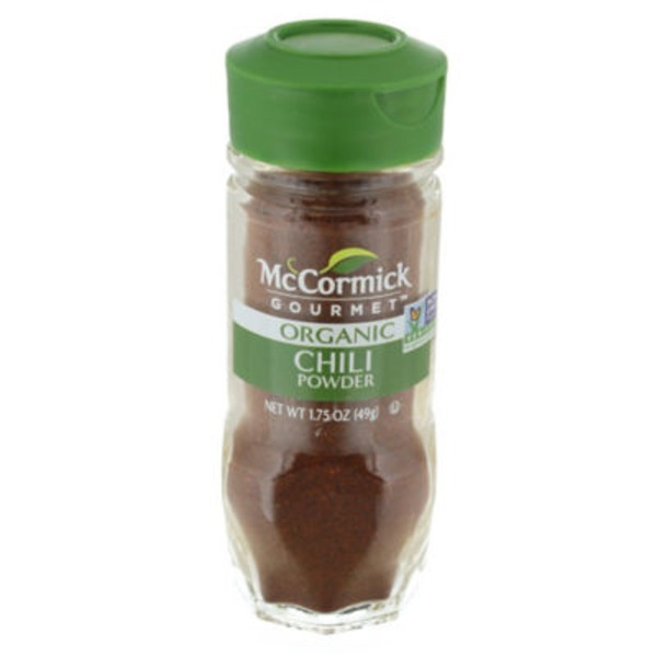 McCormick Gourmet Collection Organic Chili Powder Spice
