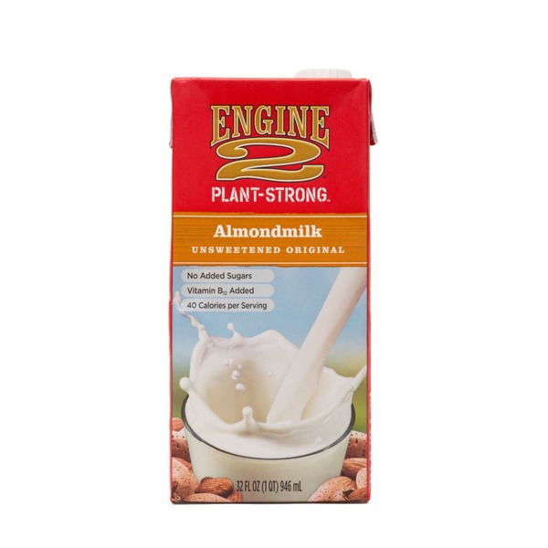 Engine 2 Unsweetened Original Almondmilk
