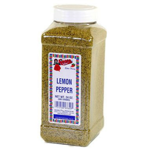 Bolner Fiesta Spices Lemon Pepper Seasoning