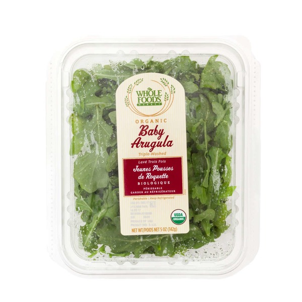 Whole Foods Market Organic Baby Arugula