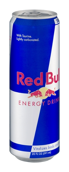 Red bull 20oz can