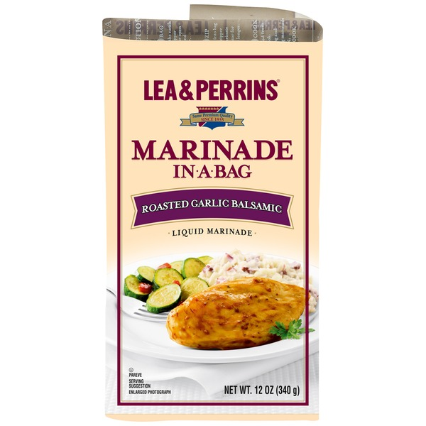 Lea & Perrins Roasted Garlic Balsamic Marinade In-a-Bag