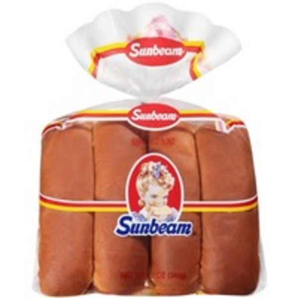 Sunbeam Enriched Sandwich Rolls