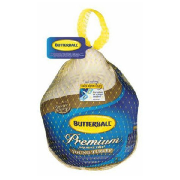Butterball Frozen Premium Whole Young Turkey