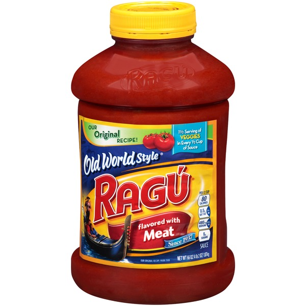 Ragu Old World Style Flavored with Meat Pasta Sauce