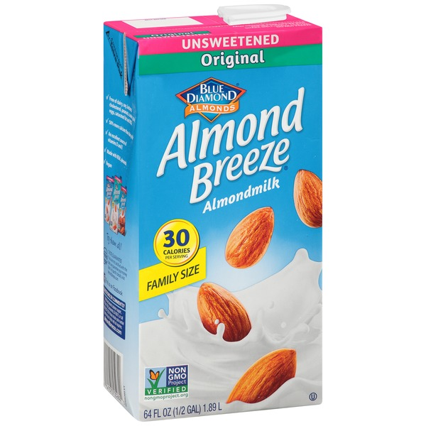 Almond Breeze Unsweetened Original Almondmilk
