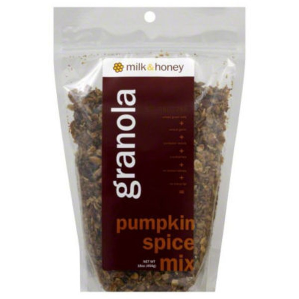 Milk And Honey Granola Pumpkin Spice Mix