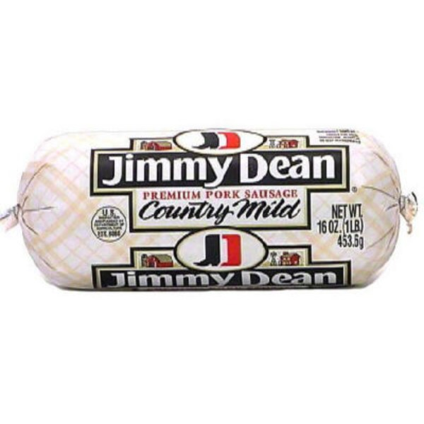 Jimmy Dean Country Mild Premium Pork Sausage