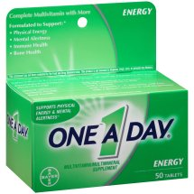 One A Day Energy Multivitamin Supplement Tablet, 50 Count