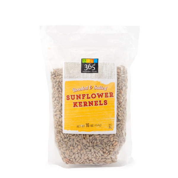 365 Roasted Salted Sunflower Kernels