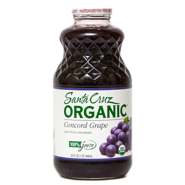 Santa Cruz Organics 100% Juice Concord Grape