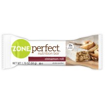 ZonePerfect Nutrition Bar Cinnamon Roll High Protein Energy Bars 1.76 oz Bars (Pack of 5)