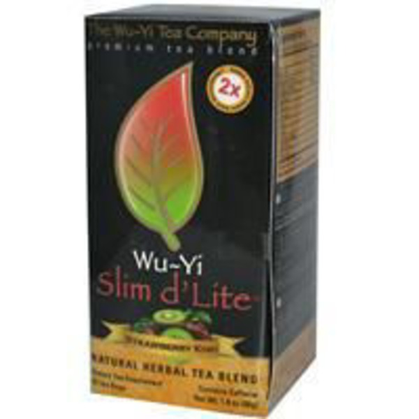 The Wu Yi Tea Company Strawberry Kiwi Slim d'Lite Tea