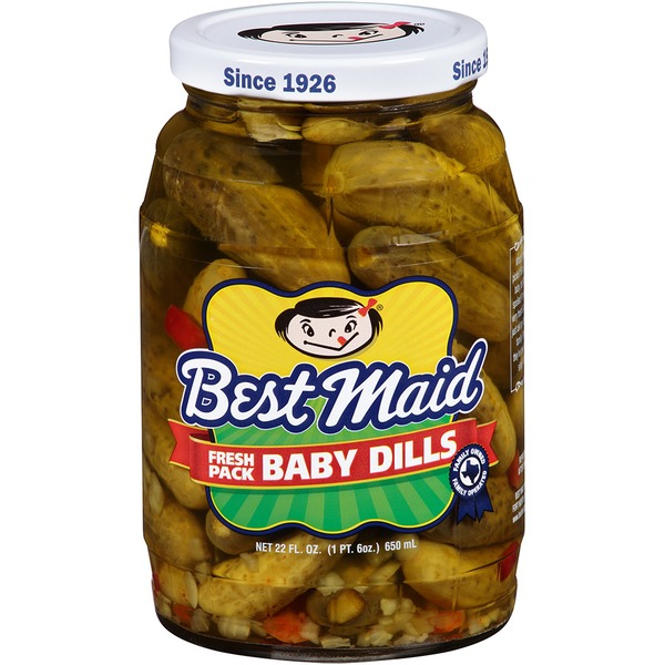 Best Maid Fresh Pack Baby Dills Pickles