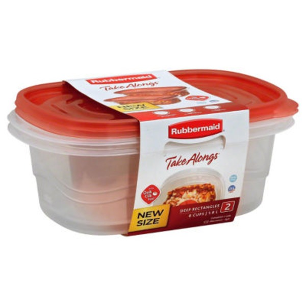 Rubbermaid Tupperwear Take Alongs - 2 CT