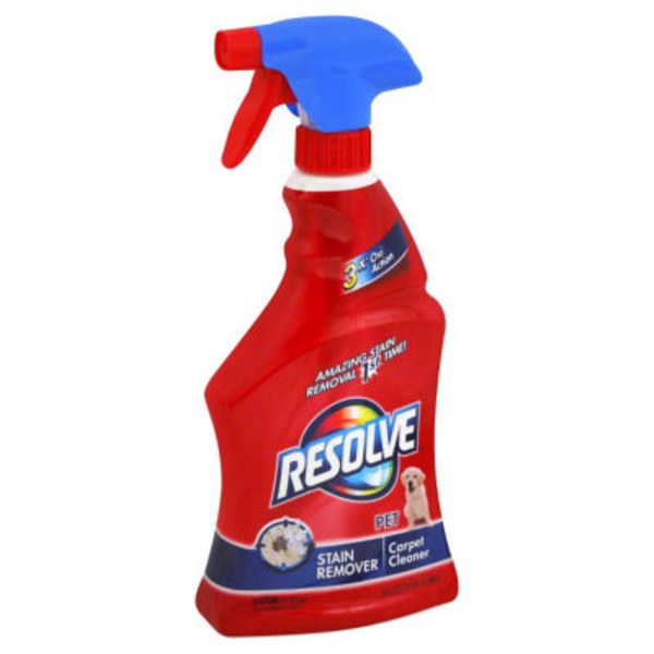 Resolve Pet Stain Remover