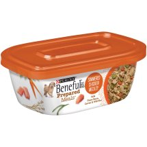 Purina Beneful Prepared Meals Simmered Chicken Medley Dog Food 10 oz. Plastic Tub