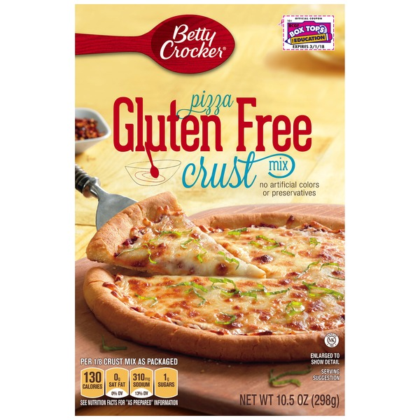 Betty Crocker Gluten Free Pizza Crust Mix