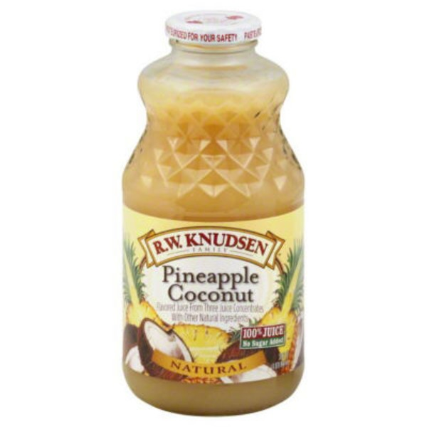R W  Knudsen Natural Juice Pineapple Coconut