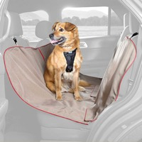 Kurgo Heather Hammock Tan Dog Car Seat Cover 55