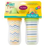 The First Years Insulated Hard Spout Sippy Cup - 2 pack