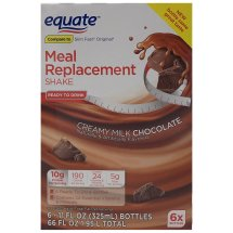 Equate ultra weight loss shake, chocolate, 66 Oz