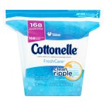 Cottonelle FreshCare Flushable Cleansing Cloths, 168 count